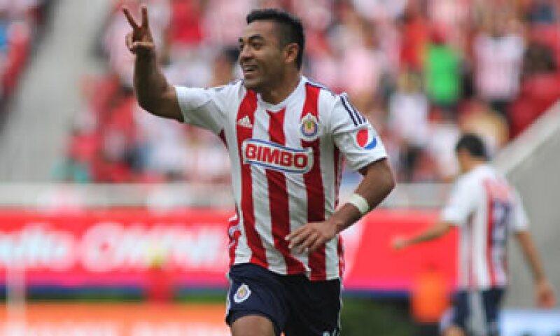 Marco Fabián juega actualmente en las Chivas, equipo en el que debutó como futbolista profesional. (Foto: Cuartoscuro )