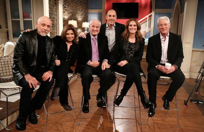 Julia Roberts y Richard Gere se reencontraron con el resto del cast de la icónica película, que se estrenó en 1990, en un programa.