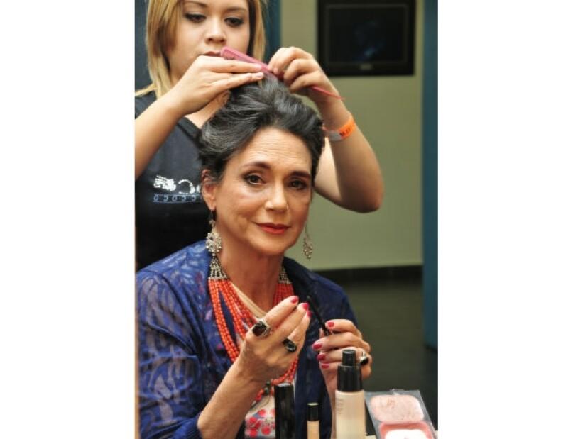 Ofelia Medina es una de las actrices más reconocidas en el ámbito nacional.