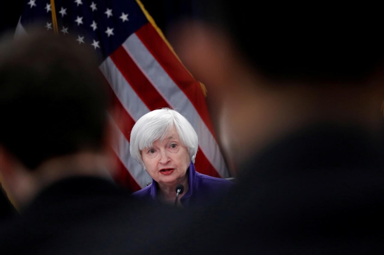 Janet Yellen dejará claro que Estados Unidos no busca debilitar el dólar