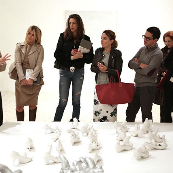 Paulina de la Paz, David Cohen, Lulú Creel, Celia Daniel, Luisa Serna, Manolo Caro, Patricia Barrios Gómez