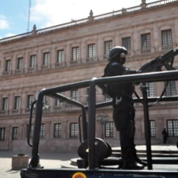 disparos palacio de gobierno coahuila