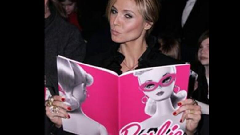 Heidi Klum es un ícono del modelaje, no podía faltar a este festejo.