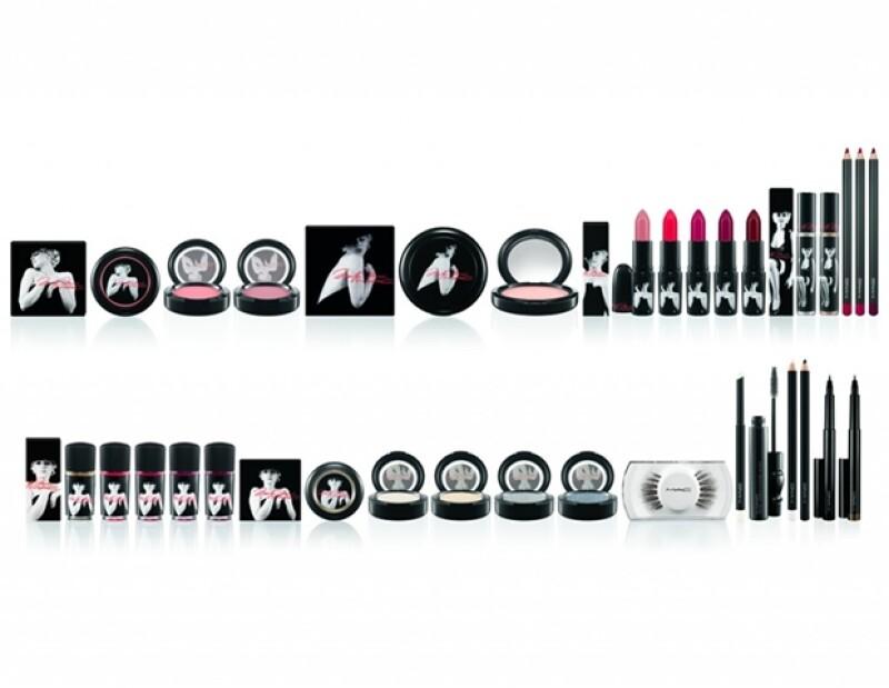 Esta es la línea completa que la marca de cosméticos creó en honor a la actriz.