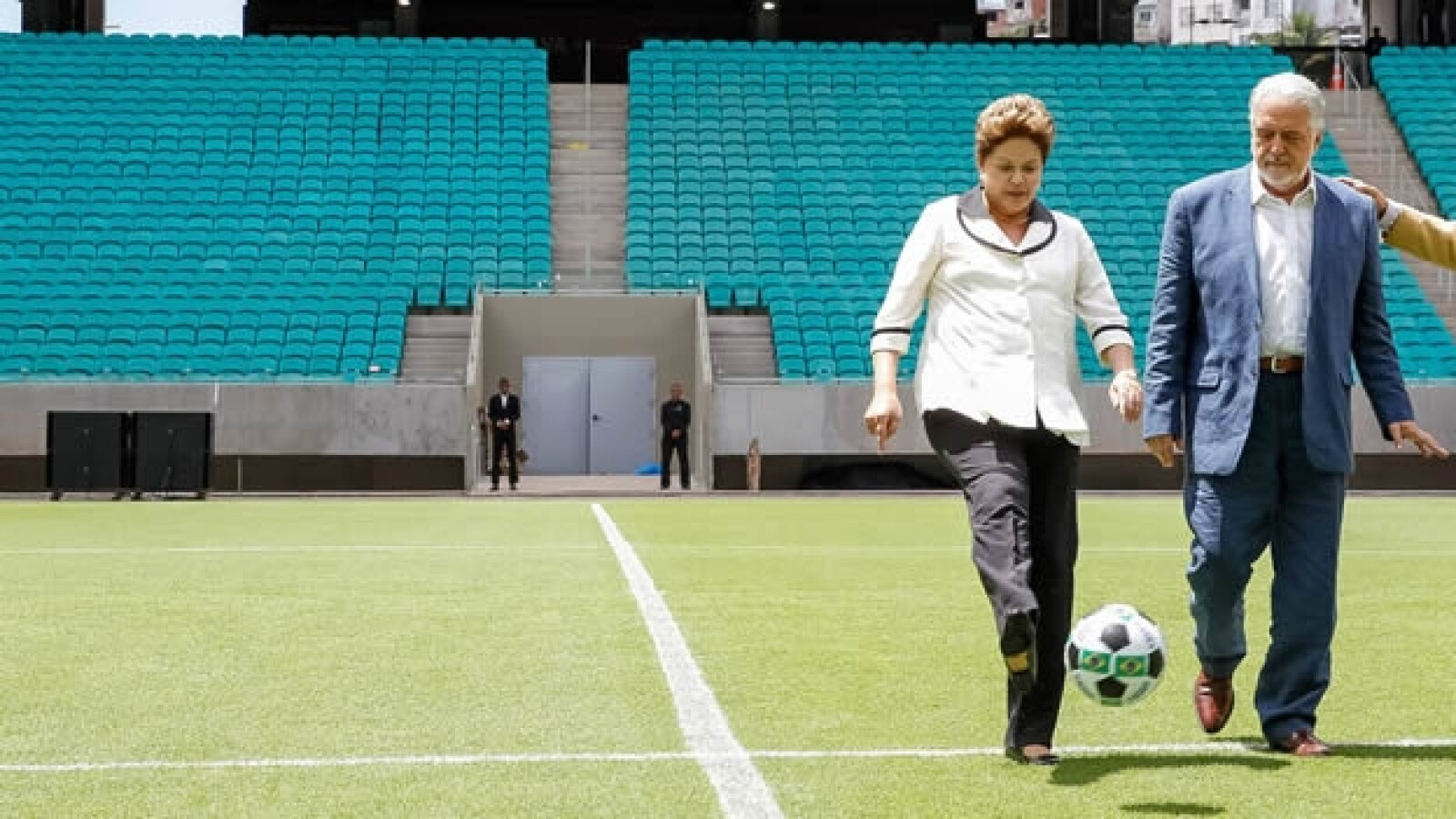 Rousseff estadio Arena Fonte Nova