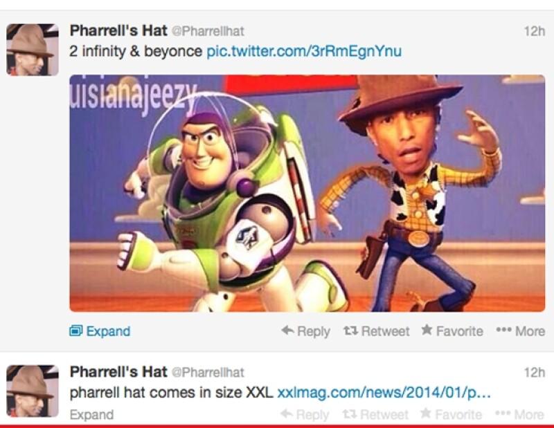 El enorme y famoso sombrero ya tiene su propia cuenta de Twitter.