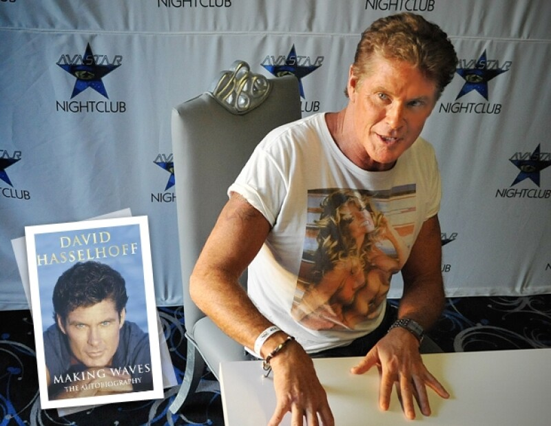 David Hasselhoff publicó `Making Waves´
