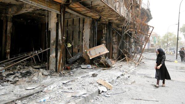La madrugada del domingo, se registraron ataques en barrios chiitas de la capital iraquí.