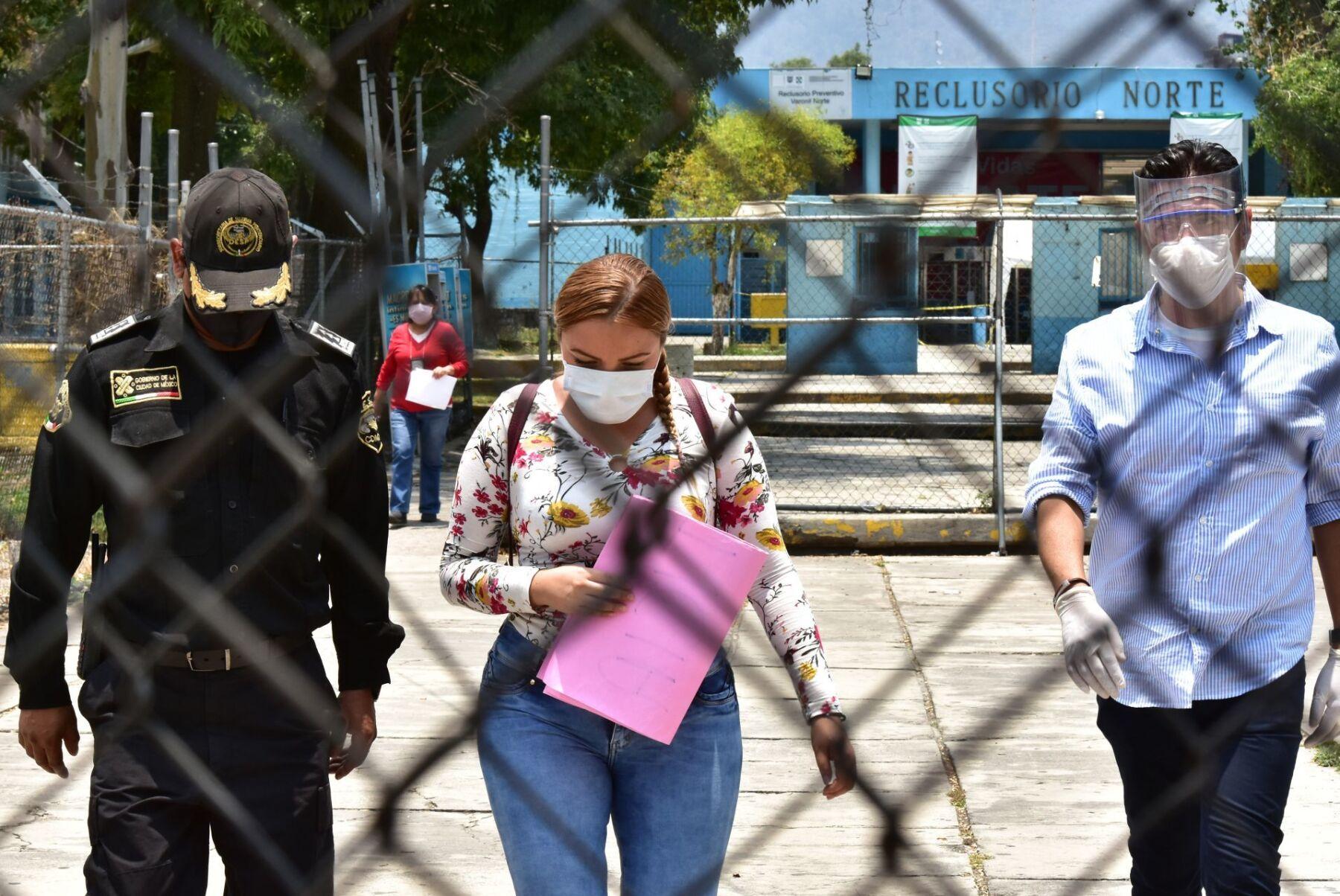 Familiares de internos del Reclusorio Norte demandaron atención médica a los contagiados de Covid 19