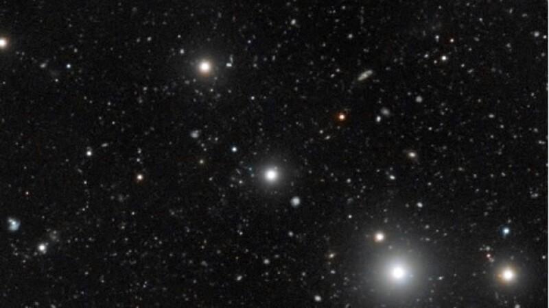 Una vista inédita de un quasar