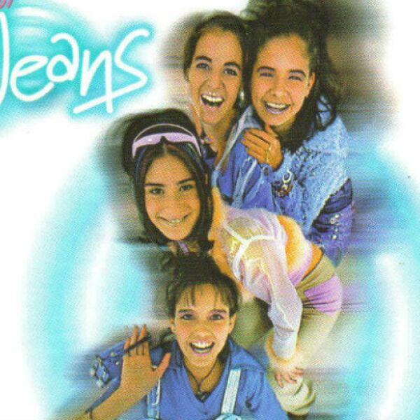 Paty, Angie, Melissa y Karla en el lanzamiento de su disco de 1998