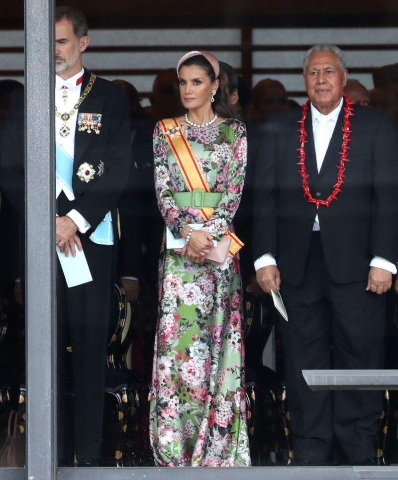 Rey Felipe VI y reina Letizia de España