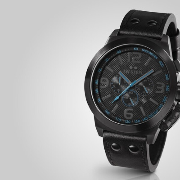 Finalizamos con el nuevo modelo de la firma holandesa, bajo la categoría de 'oversized watches' de 50 mm, la cual tiene acentos en color azul en su interior.