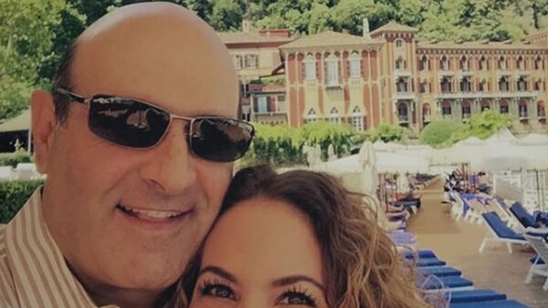 ¡Qué enamorados! Durante sus vacaciones por Italia, Michel Kuri publicó esta imagen de Lucero con el hashtag #Sheistheone.