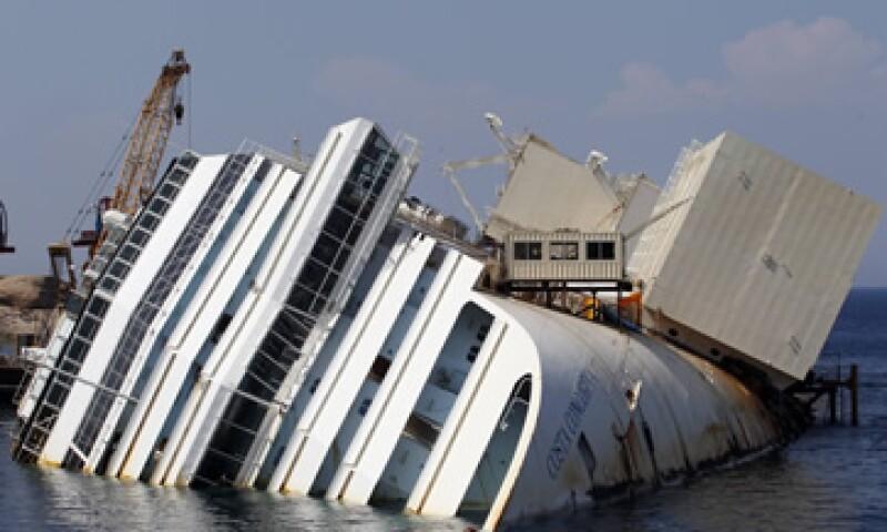 Tras el incidente del crucero, 32 pasajeros y miembros de la tripulación murieron. (Foto: Reuters)