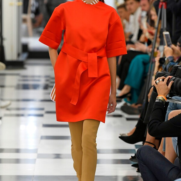Victoria Beckham show, Runway, Spring Summer 2019, London Fashion Week, UK - 16 Sep 2018
