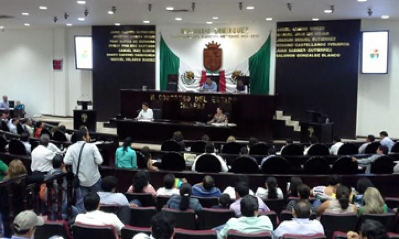 La aprobación en Chiapas se dio por 32 votos a favor y 4 en contra. (Foto: Tomada de @CongresoChisLXV)