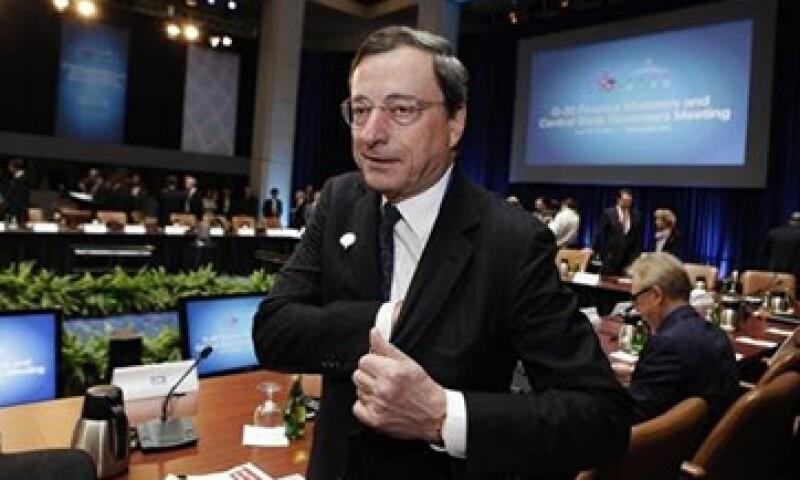 El presidente del BCE, Mario Draghi, apoya la creación de un organismo adicional que trabaje con el de supervisión bancaria. (Foto: Reuters)