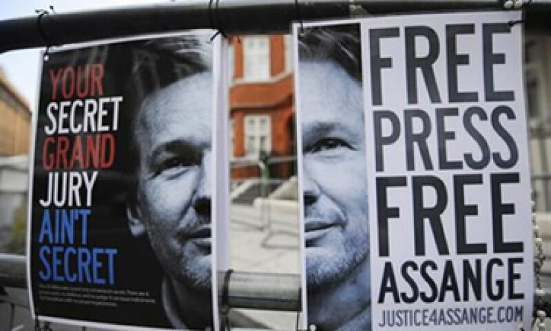 Julian Assange, acusado de delitos sexuales, permanece en la embajada de Ecuador en Gran Bretaña. (Foto: Reuters)