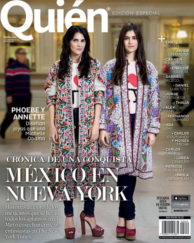 Phoebe y Annette Stephens protagonizaron nuestra edición de Quién Nueva York.