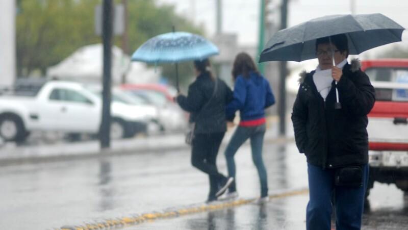 Mexico registra frio y lluvias en diciembre