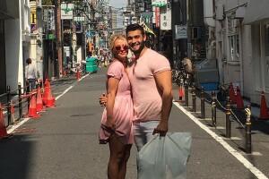 Britney y Sam Ashgari