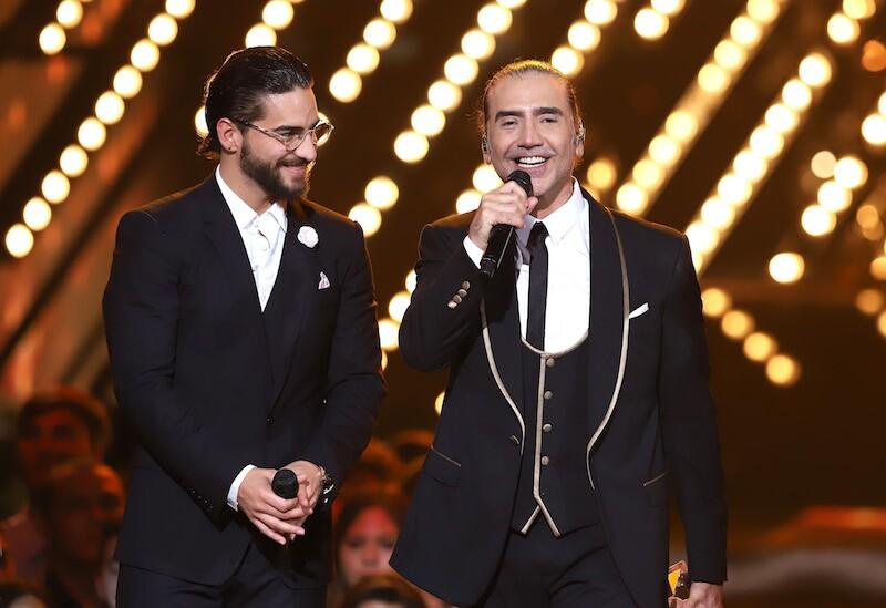 Los guapos Maluma y Alejandro Fernández causan furor en Instagram