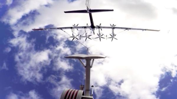 Energía eólica para impulsar una aeronave