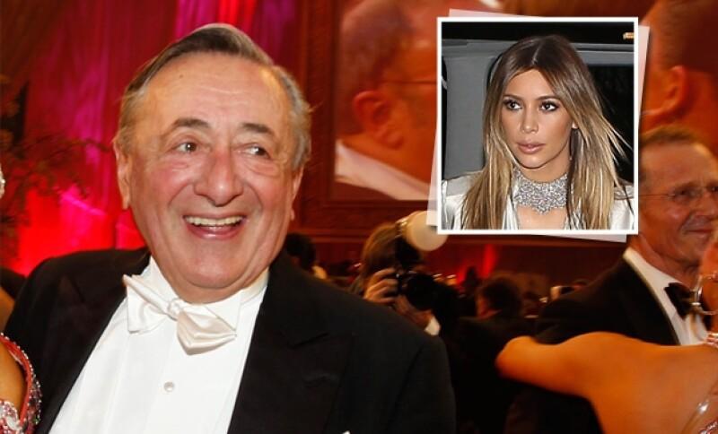 Richard Lugner, un magnate austriáco pagará 341 mil dólares para tener a la novia de Kanye West como compañía en la gala anual de la Ópera de Viena.