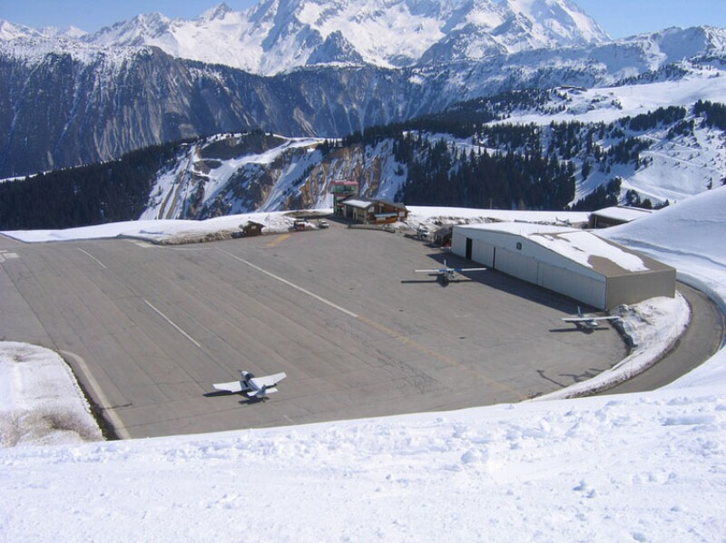 Aeropuerto Courchevel
