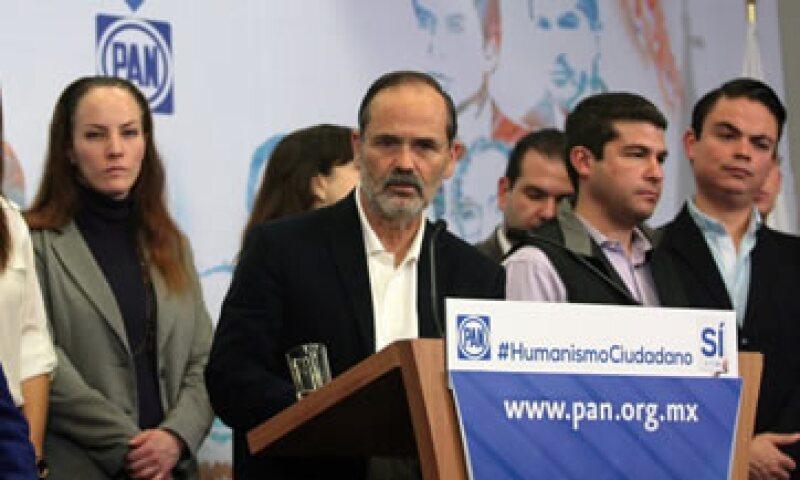 El PAN presenta formalmente este martes al Congreso su propuesta político-electoral. (Foto: Notimex)
