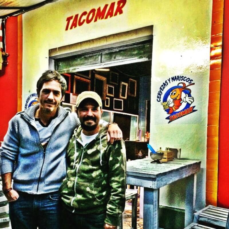 Mauricio se reunió con Rodrigo en su reciente visita a México para poner en marcha su restaurante.