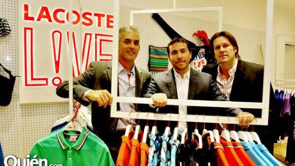 Juan Carlos Blanco, Jorge Barylka y Oscar Stadelmann