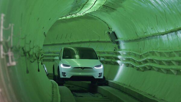 Prototipo del sistema de transporte Hyperloop