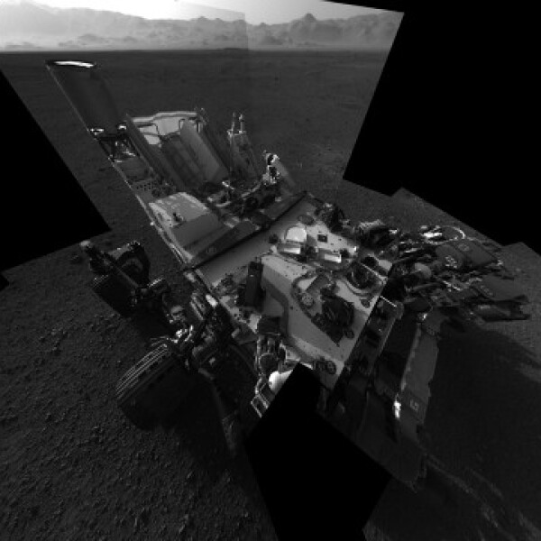 curiosity NASA Marte