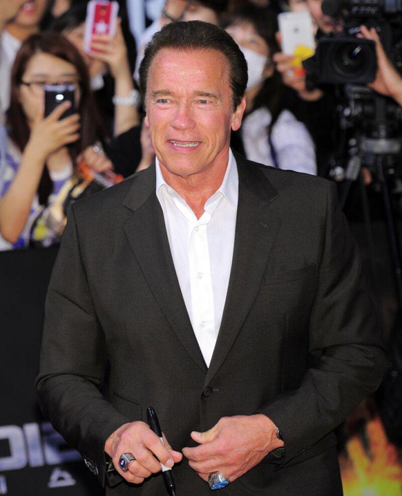 Arnold ha sido uno de los políticos más controversiales, en especial por su vida privada.