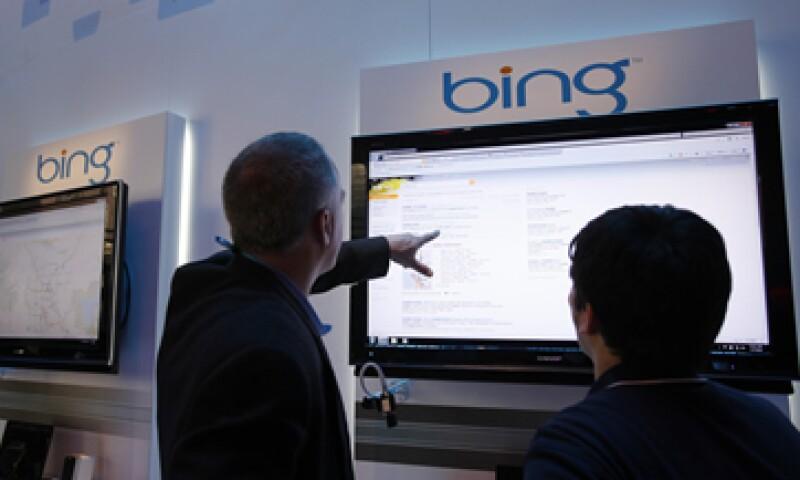 Bing posee una cuota del 18% en el mercado de búsquedas frente al 67% que posee Google. (Foto: AP)