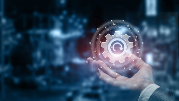 engranaje tecnológico. retos . industria. tecnología . jueventud