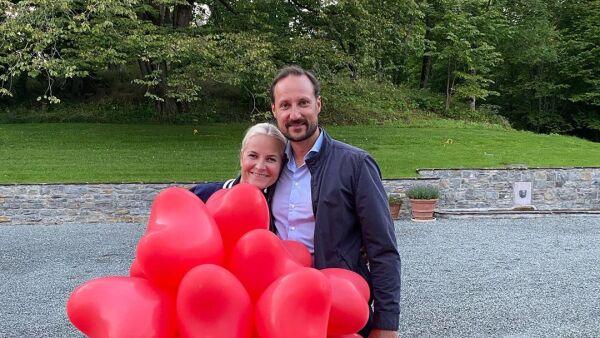 Princesa Mette-Marit y el príncipe Haakon