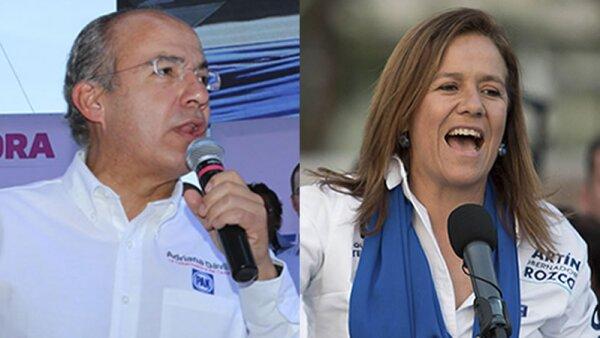 Felipe Calderón asistió al cierre de campaña de Carlos Joaquín en Quintana Roo.