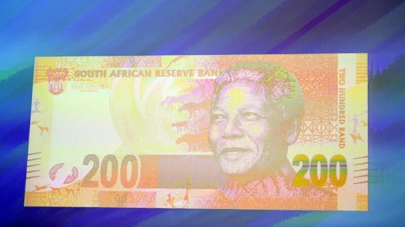 Nelson Mandela Sudáfrica billetes Rand