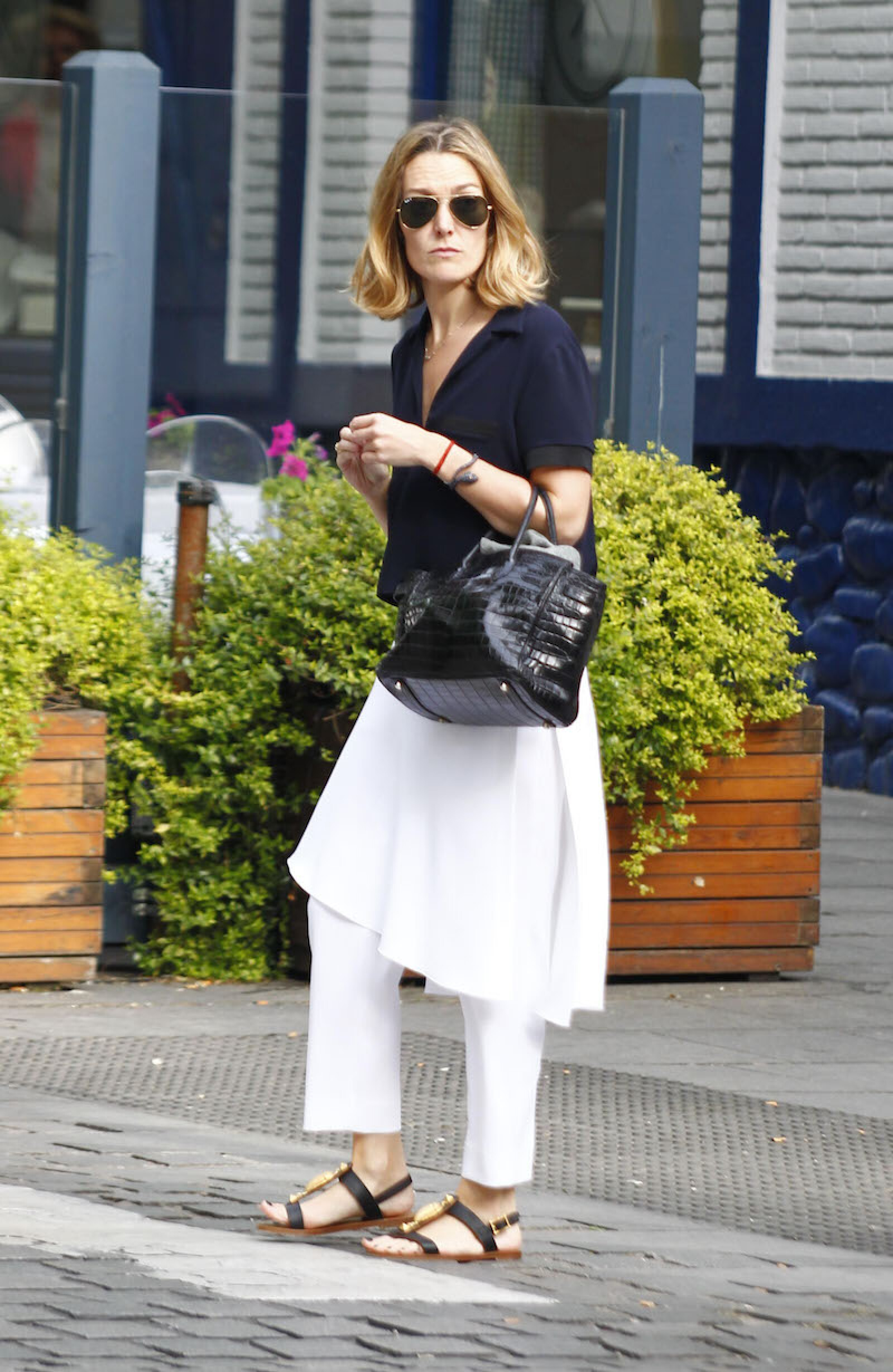 Celebrities Sighting In Madrid - May 05, 2014