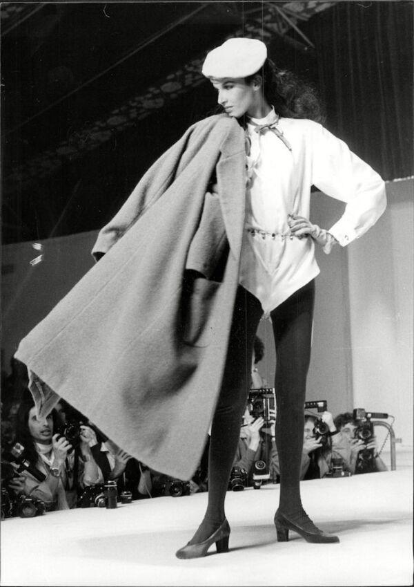 Kenzo Fashion Show In Paris.