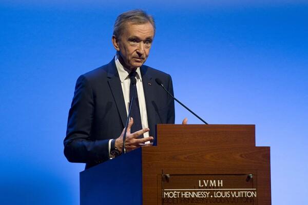 LVMH Annual Results Announcement, Paris, France - 25 Jan 2018