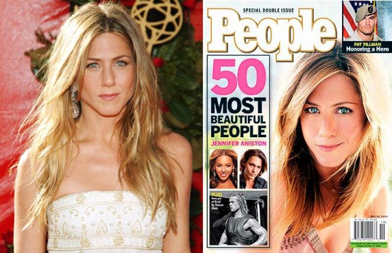 En 2004, la actriz fue catalogada igualmente como la Mujer Más Bella del Mundo.