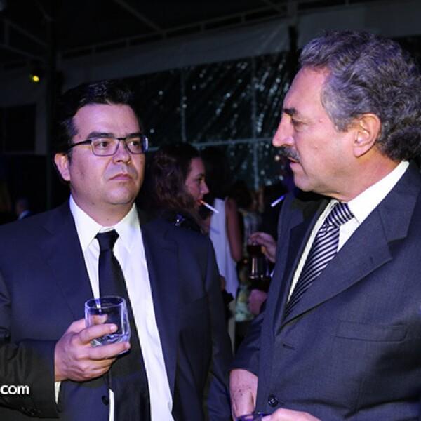 Bernardo Quintana y Enrique Mercado