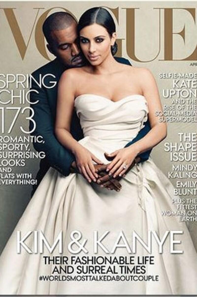 Esta es la portada de abril.