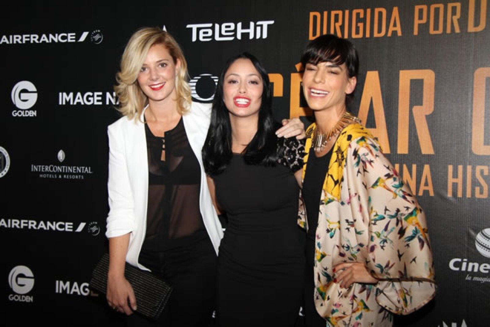 Johanna Murillo, Maya Zapata, Daniela Schmidt.