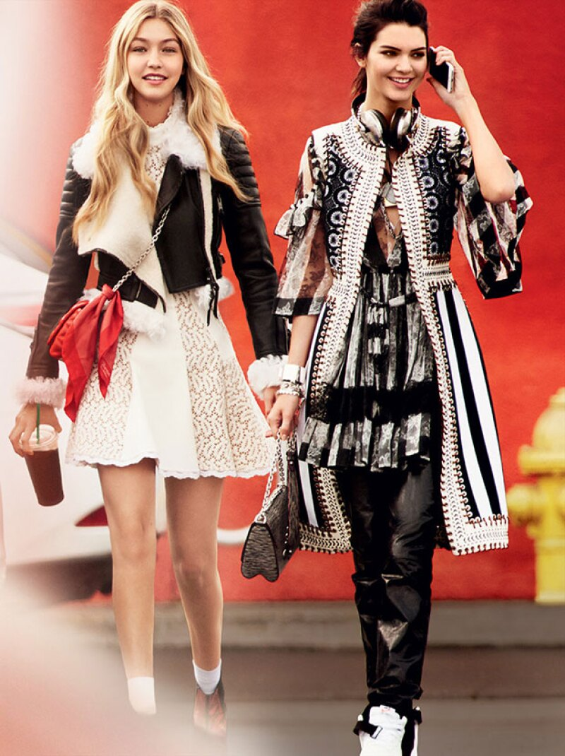 Kendall y Gigi se han convertido en grandes amigas.