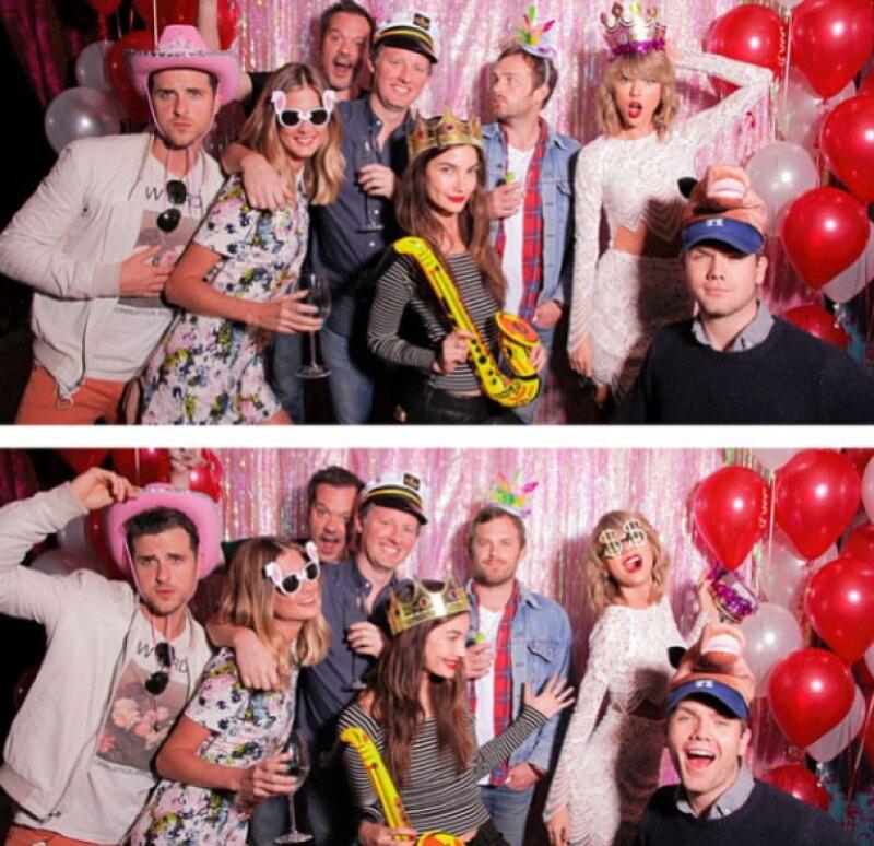 """Este es el """"Nashville Squad"""" de Taylor."""